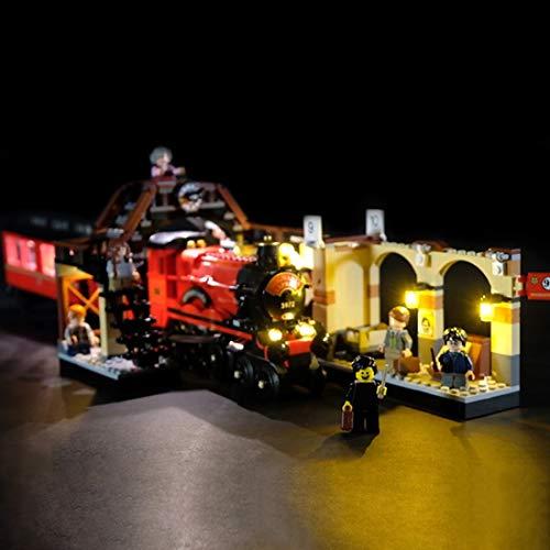 POXL Set di Luci per Harry Potter Espresso per Hogwarts, Kit di Illuminazione LED Luce LED Light Compatibile con Lego 75955 - Non includere Il Set Lego