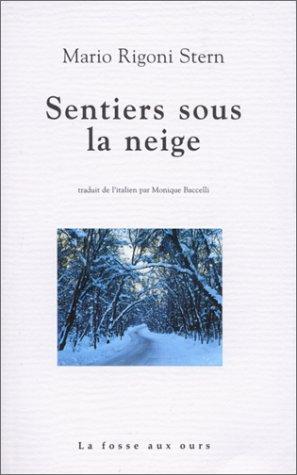 Sentiers sous la neige par Mario Rigoni Stern