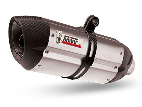 Speed-sound-edelstahl (MIVV y.023.l7Yamaha FZ1/FZ1Fazer 2006Auspuff Slip Terminal Sound Edelstahl Cup Carbon)