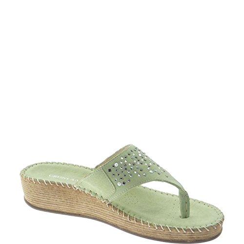 GRUNLAND , Sandales pour femme Vert - Menta
