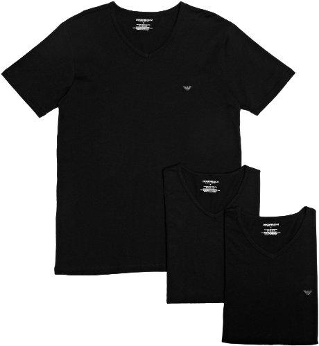 Emporio Armani Intimates - Mens Knit 3 Pack T-Sh, T-shirt