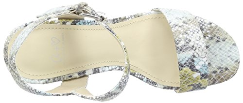 Another Pair of Shoes SelenaaK1, Sandales Bride cheville femme Multicolore (multi khaki1466)