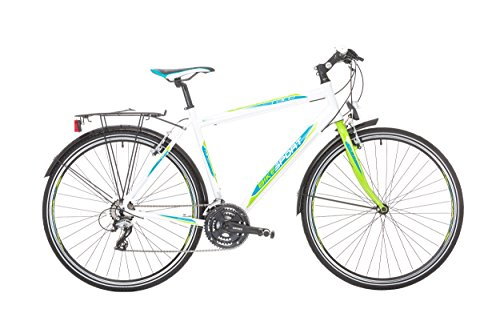 Bikesport TEMPO Trek, Bicicleta híbrida Unisex...