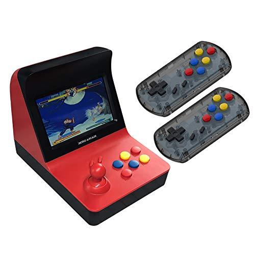 Switch-erweiterung Griff (LbojailiAi A8 3000 in 1 Classic Arcade Game Console Spielkonsole für TF Karten rot)