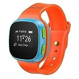 'Alcatel Move Time sW10Blue/Red Track & Talk Watch + Carte 500mB et 5€ en solde. Montre intelligente (Satellite GPS, écran OLED, 2,41cm (0,95), mobile, 36g)