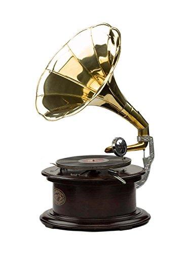 gramophone-avec-pavillon-pour-disque-en-gomme-laque-style-antique-bois-70-cm