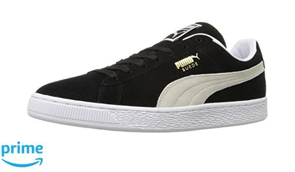 7de4e4833c3 Puma Men's Suede Classic Plus Sneakers black Size: 9.5 UK (44 EU ...