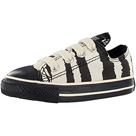 Converse All Star Chuck Taylor Animal Print Zebra Ox Baby