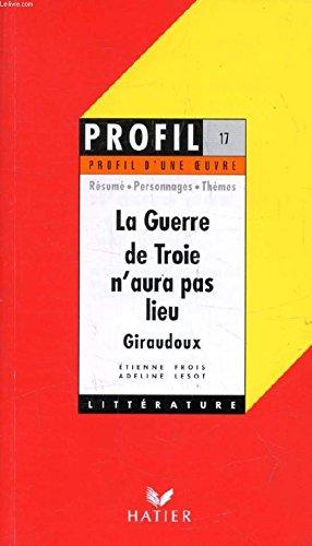 La guerre de Troie n'aura pas lieu (1935), Giraudoux : Résumé, personnages, thèmes