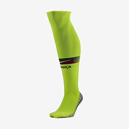 Nike FCB U NK STAD OTC AW Socks, Volt/deep royal Blue/Noble red, M