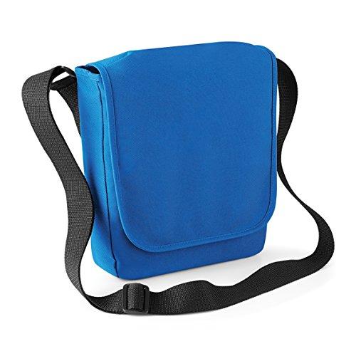 Messenger-Tasche mit iPad / Tablet-Fach - 4 Farben erhältlich Sapphire Blue