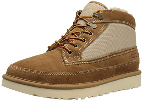 UGG Men's Highland Field Boot Fashion, Chestnut, 10 Medium US