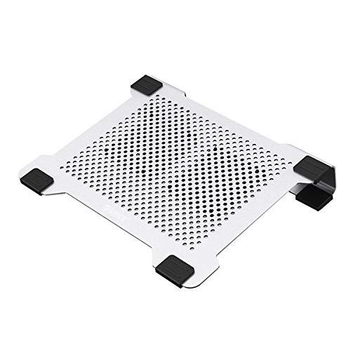 Orico Aluminium Laptop Kühler Stand mit 2 abnehmbare Lüfter - Passend für Laptops Größe 11 - 15 Zoll (NA15-SV)