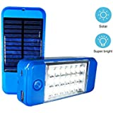 US1984 21 LED Wireless Solar Light with Power Bank, Wall Light and Lighting for Wall, Patio, Garden, Landscape, Deck, Shed, Lawn, Emergency Light, Two Brightness Mode