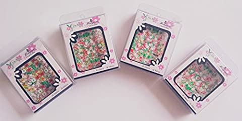 25 Sheets 3D Cute Nail Art Decoration Stickers Christmas Fashion Design Decals by RayLineDo