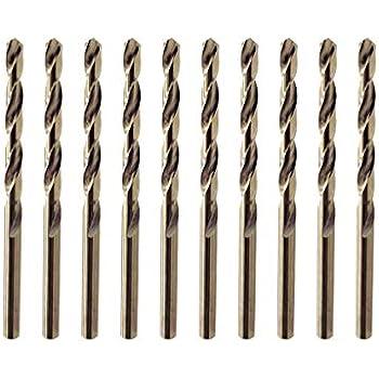 Set Di Punte Da Trapano M35 Cobalto Hss-Co 10 Pezzi Di Punte Da Trapano In Acciaio M35 Accessori per Utensili Industriali