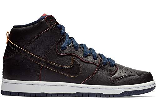 NIKE SB Herren Schuhe Dunk High Pro NBA Black / College Navy -41 -