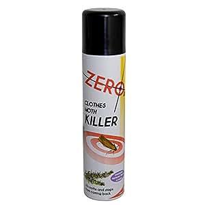 Clothes Moth Killer Aerosol Spray 300ml Kills Moths & stops them coming back