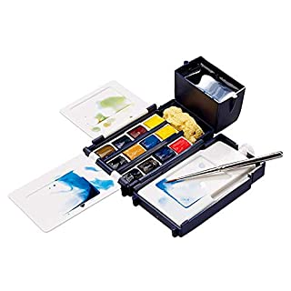 Winsor & Newton Cotman - Set de acuarela con 12 pastillas, multicolor (B000N9B3WM) | Amazon price tracker / tracking, Amazon price history charts, Amazon price watches, Amazon price drop alerts