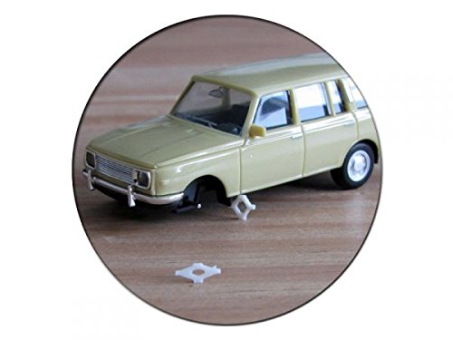 Preisvergleich Produktbild modellbahn-exklusiv mexb0010 - Wagenheber Scherenwagenheber DDR, 2 Stück -H0-