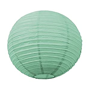 Tim & Puce 5028S - Farolillos japoneses (15 cm), Color Verde