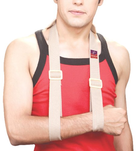 Flamingo Arm Sling Strap with Shoulder cushion - Universal  available at amazon for Rs.75