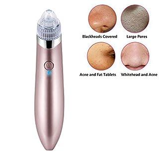 Original Electric Facial Face Pore Cleanser Vacuum Blackhead Removal Sucker Acne Remover Skin Care Face Massage Drop Shipping (rose gold)