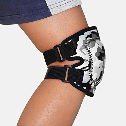 HECHEN 2 Stück/Anti-Kollision Weiche Schwamm Kniepolster-Kinderfahrrad Dance Roller Skating Knieschutz Schutzausrüstung