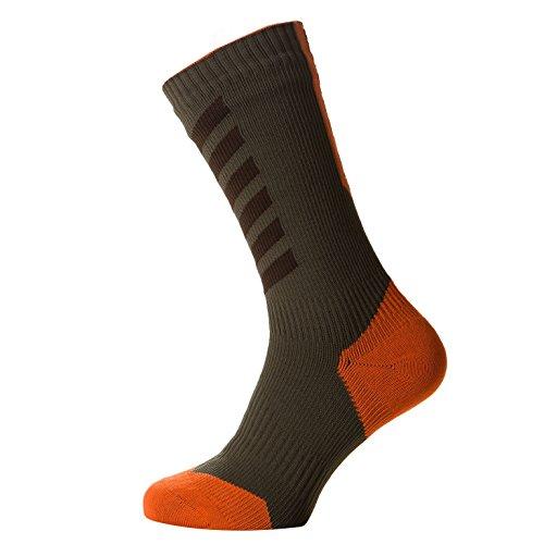 sealskinz-mtb-thin-mid-with-hydro-stop-chaussettes-mixte-dark-olive-mud-methyl-orange-x-large