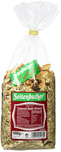 Seitenbacher Müsli Natural-Body-Power, 3er Pack (3x 1000 g Packung) -