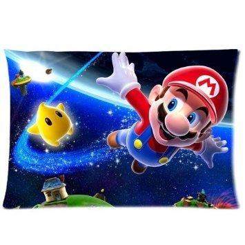 TrendSetter Super Mario Luigi Kissenbezug, dekorativer Kissenbezug, 20 x 30, beidseitig