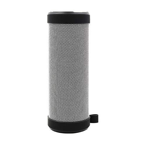 kabelloser Sprachübertragung im Freien grau Lautsprecher,unglaubliche 20-Stunden-Akkulaufzeit mit reinem Bass und eingebautem Mikrofon für erstklassigen Klang für iPad,Tablet und More - Freien Im Pole-lampe