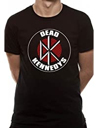 DEAD KENNEDYS Men's Brick Logo Short Sleeve T-Shirt