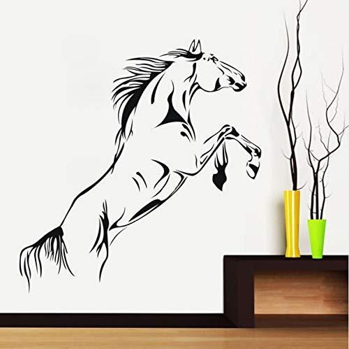 Preisvergleich Produktbild YS753 Runaway Horse Wandaufkleber Cartoon Pferd Füße Aufzug lustige Wandtattoo Home Decor
