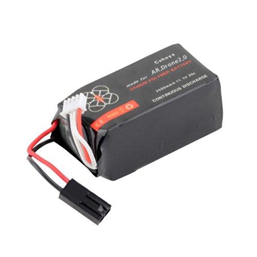 Dailyinshop 11.1V 2500Mah 20C Li-Po Batteria per Parrot AR.Drone 2.0