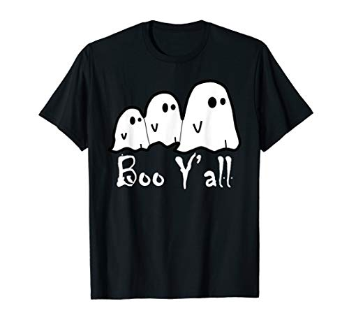 Boo Kostüm Ghost - Boo Y'all-Ghost Scary Halloween-Kostüm-Pullover T-Shirt