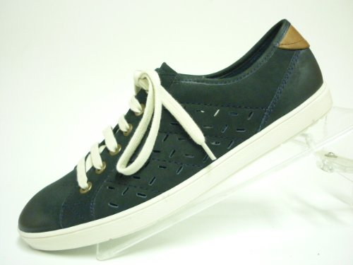 DocComfort , Chaussures de ville à lacets pour femme navy/hasel Weite G - navy/hasel Weite G