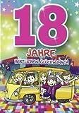 Archie Geburtstagskarte zum 18. Geburtstag Junge Mädchen gelb Glückwunschkart...