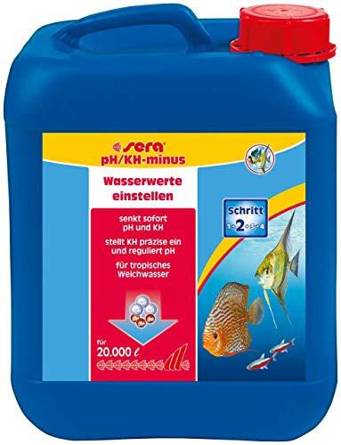 sera 03580 pH/KH-minus 5 Liter - Weiches Wasser, aber sicher