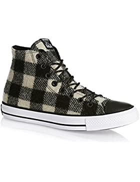 Converse Trainers - Converse Chuck Taylor All Star Hi Shoes - Black/White