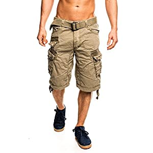 3C5 Geographical Norway People Herren Bermuda Shorts Kurze Hose Mastic M