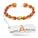 Amber Bracelet or Anklet / Premium Baltic Amber Beads that are 50% Richer and in Higher Value / Various Sizes from 13 to 22 cm / CGN.P-BN20.5