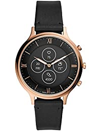 Fossil Charter Hybrid Hr Smartwatch Black Dial Women's Watch - FTW7011