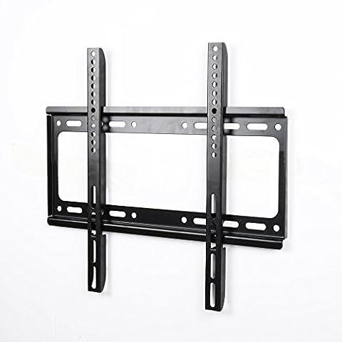 Réduction pour Black friday! KINLO® Support Mural TV Support Fixation pour écran plat 26
