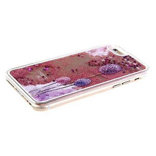 Voguecase® Per Apple iPhone 5C, Sabbie mobili stella Hard Skin Protettivo Skin Custodia Protettiva Shell Case Cover (argento-fiori di ciliegio gatto bianco) Con free Stilo Penna rossa-Dandelion 11