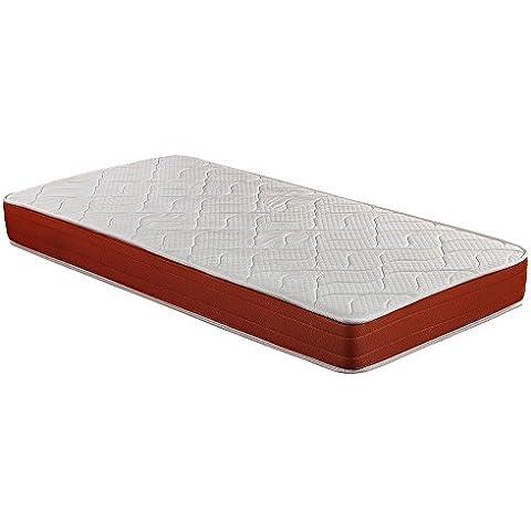SmartCell Visco CP21451090190 - Colchón celular, color blanco y naranja