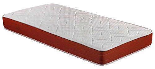 SMARTCELL Memory Foam-Matratze, 90 x 190 x 18 cm, hohe Dichte, maximale Belüftung, Visco Anti-Milbe (andere verfügbare Größen), 90 x 190 cm, Polyester