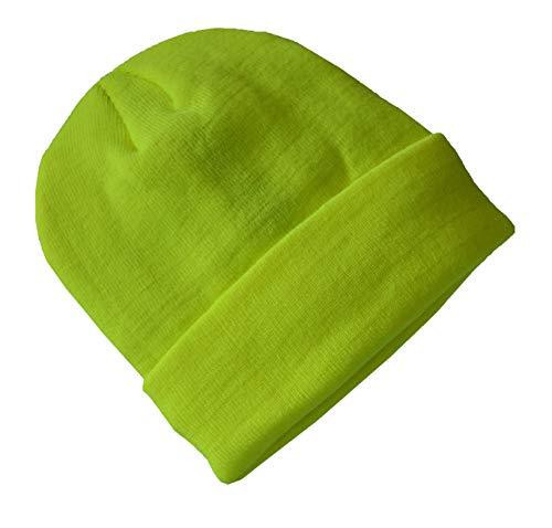 weisende Wintermütze bis -30°C Kälte mit Thinsulate Innenfutter (Neon Gelb) ()