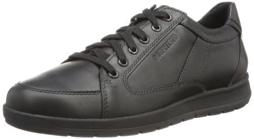 Mephisto - Gregor Steve 2600 Black, Sneakers da uomo Nero (Schwarz (BLACK STEVE 2600))