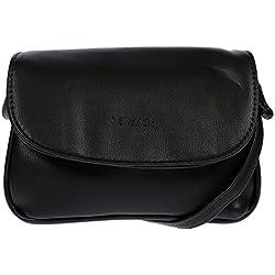 Kleine Damen Handtasche / Ausgehtasche / Abendtasche (schwarz)